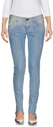 AR+ CAMOUFLAGE AR AND J. Denim pants - Item 42561883