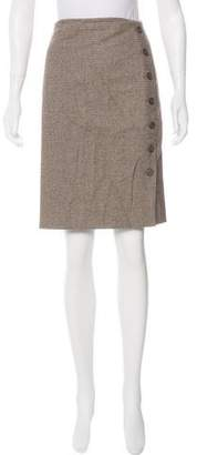 Akris Wool-Blend Skirt