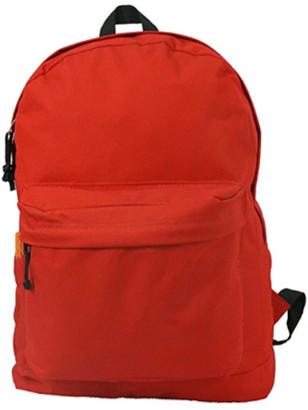 DAY Birger et Mikkelsen K-Cliffs Backpack 18 inch Padded Back School Pack Classic Book Bag Mesh Pocket Red
