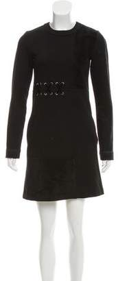 Marc by Marc Jacobs Textured Long Sleeve Dress
