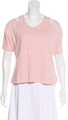 See by Chloe Short Sleeve Knit T-Shirt