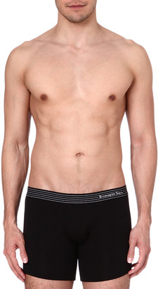 Zegna Elasticated waistband boxer shorts $31.50 thestylecure.com