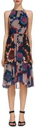 Whistles Abstract Sunflower Print Dress $379 thestylecure.com