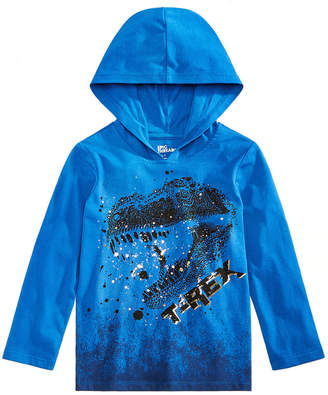 Epic Threads Little Boys Graphic-Print Hooded Shirt, Created for Macy's