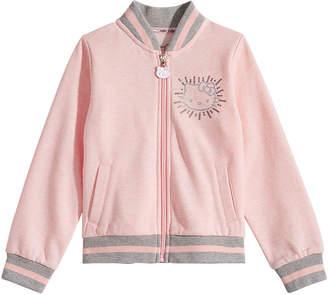 Hello Kitty Little Girls Fleece Bomber Jacket
