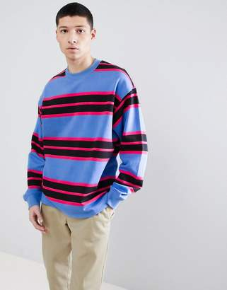 Weekday Sid Striped Sweater