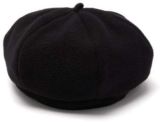 Our Legacy Fleece Beret - Mens - Black