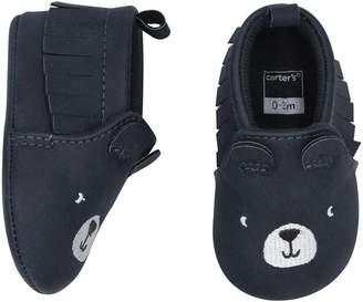Carter's Baby Boy Bear Moccasin Crib Shoes