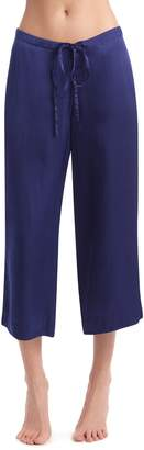 Commando Crop Silk Pajama Pants
