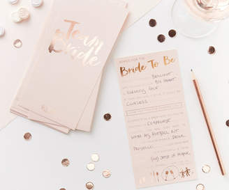 Oasis BRIDE-TO-BE ADVICE CARDS