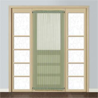 Co UNITED CURTAIN United Curtain Montecarlo Rod-Pocket Door Panel Curtain