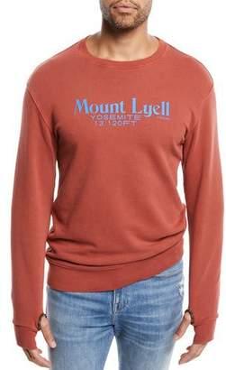 Frame Men's Mount Lyell Crewneck Cotton Sweatshirt