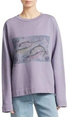Acne Studios Oslabi Fish Sweatshirt