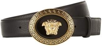 Versace Greek Buckle Belt