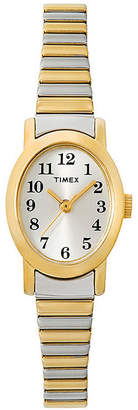 Timex Womens Oval Expansion Strap Watch T2M570