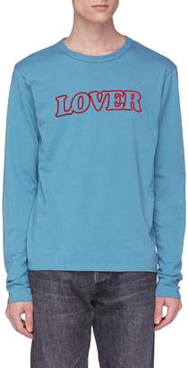Bianca Chandôn 'Lover' print long sleeve T-shirt