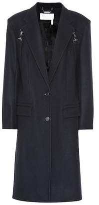 Chloé Stretch wool-blend coat