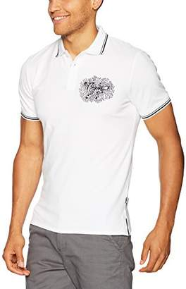 Just Cavalli Men's Graphic Polo Tee