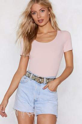 Nasty Gal Can You Fitted Me In Tee