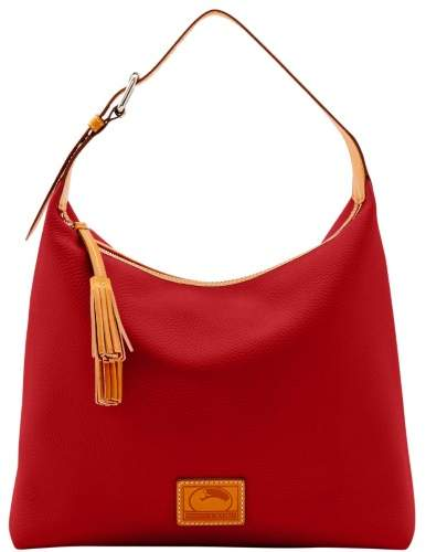 Dooney & Bourke Patterson Leather Large Paige Sac Shoulder Bag - RED - STYLE