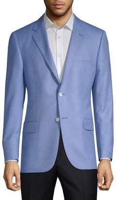 Hickey Freeman Men's Silk Cashmere Sports Jacket