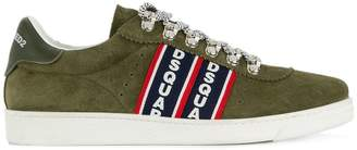 DSQUARED2 Barney logo stripe sneakers
