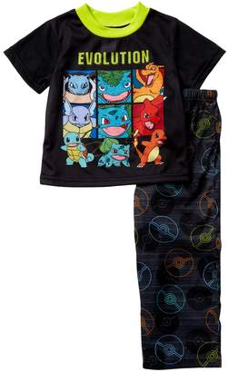 Pokemon AME Evolution Pajama Set (Little Boys & Big Boys)