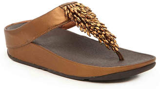 a0f9fc2e516 FitFlop Gold Women s Sandals - ShopStyle