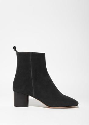 Isabel Marant Étoile Deyissa Velvet Boots $560 thestylecure.com
