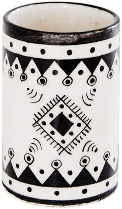DAY Birger et Mikkelsen Pavillion Hand Painted Tumbler - Jaipur Porcelain - Black/White