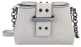Marc Jacobs Lock & Strap Leather Crossbody Bag
