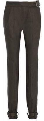 Belstaff Buckle-Embellished Wool Pants