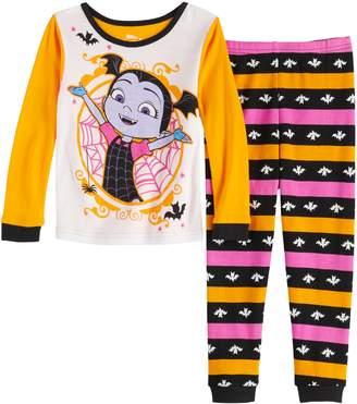 Licensed Character Disney's Vampirina Toddler Girl Top & Bottom Pajama Set