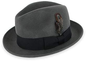 Hats in the Belfry Belfry Trilby Men Women Snap Brim Vintage Style Dress Fedora  Hat d9f44e4073a3