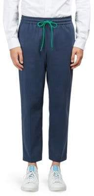 Kenzo Relaxed Cotton Jogger Pants