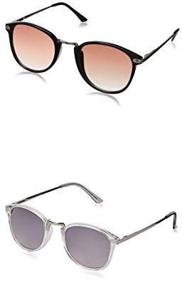 A. J. Morgan A.J. Morgan Castro Round Sunglasses - Two-Pack ()