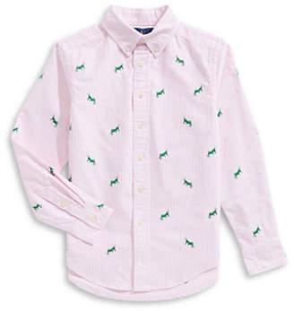 Ralph Lauren Oxford Cotton Collared Shirt
