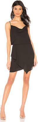 Krisa Drape Skirt Mini Dress