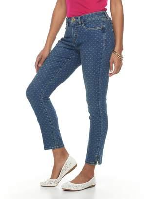 Croft & Barrow Women's Straight-Leg Ankle Jeans