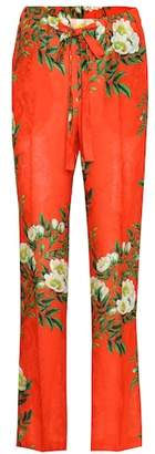Gucci Printed jacquard trousers