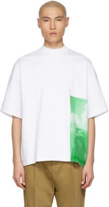 Jil Sander White Graphic T-Shirt