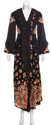 Vilshenko Aventina Silk Dress