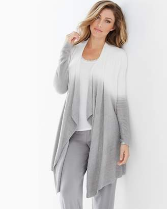 Barefoot Dreams Chic Lite Calypso Wrap Pearl And Pewter