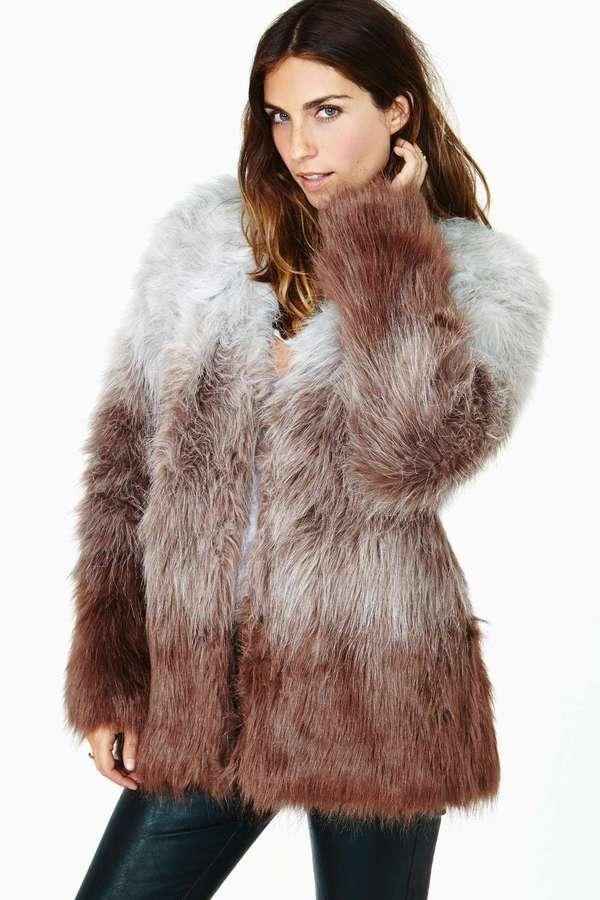 In The Mood Faux Fur Coat