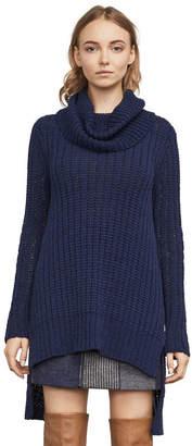 BCBGMAXAZRIA Jules High-Low Sweater Vest
