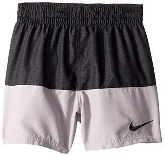 Nike 4 Linen Split Volley Shorts (Little Kids/Big Kids)