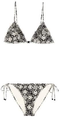 Zimmermann Divinity ruffle bikini