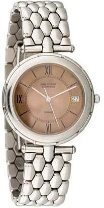 Van Cleef & Arpels Round Quartz Watch