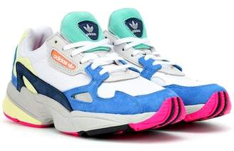 adidas Falcon suede-trimmed sneakers