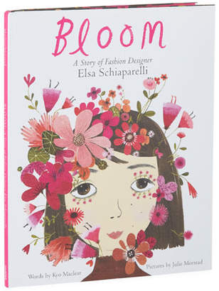 "Harper Collins Bloom: A Story of Fashion Designer Elsa Schiaparelli"" Book by Kyo Maclear"